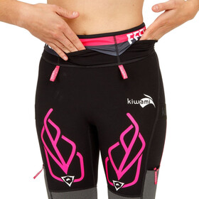 KiWAMi Equilibrium Trail Shorts Damen black/pink